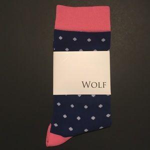 Other - NWT Wolf dress socks